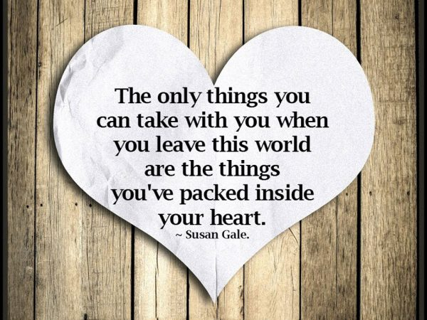 When You Leave This World
