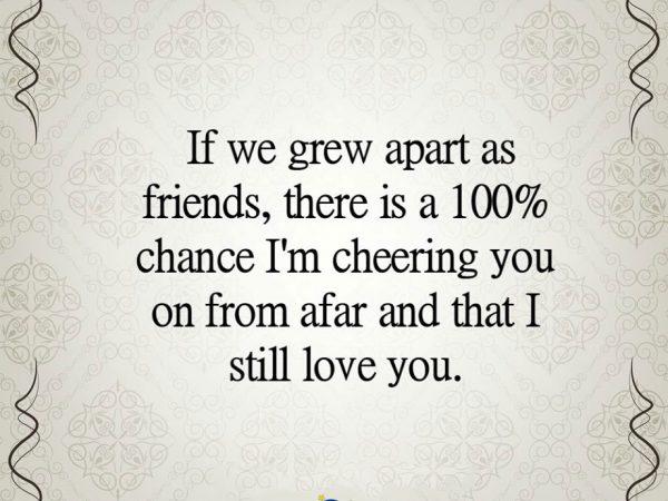 Grew Apart