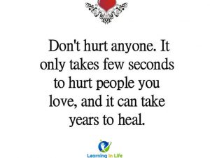 Dont Hurt Anyone