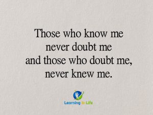 Doubt Me