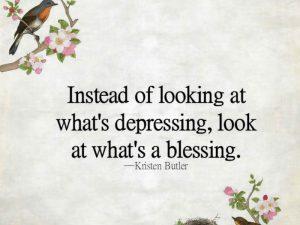 Depressing vs. Blessing