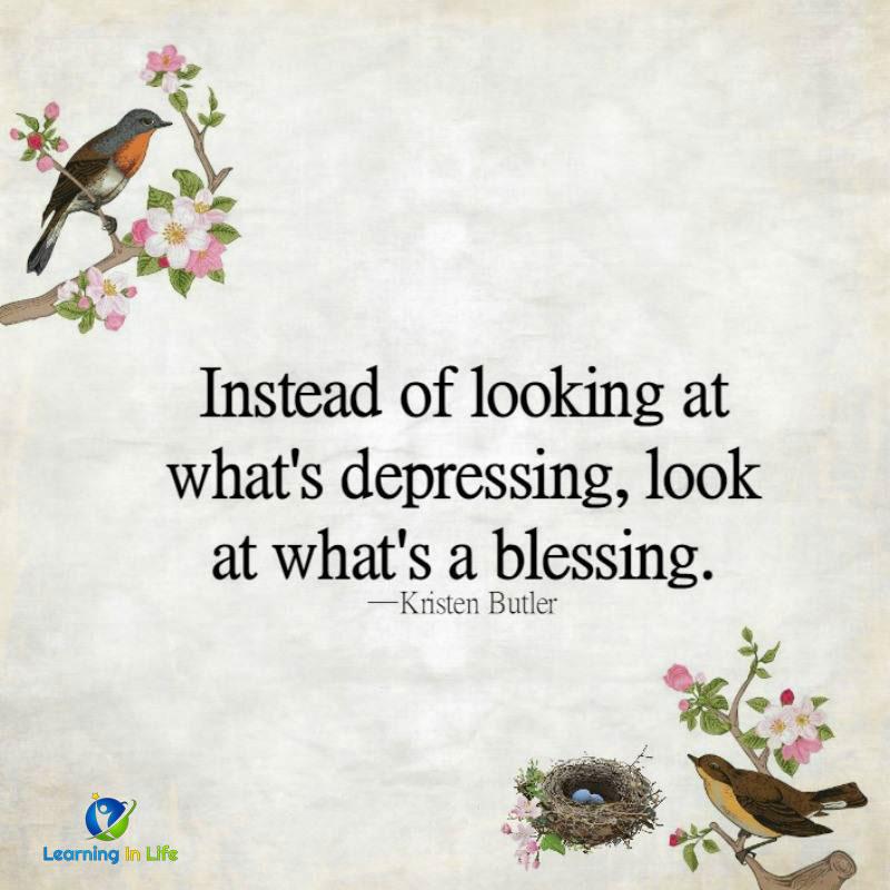 Photo of Depressing vs. Blessing