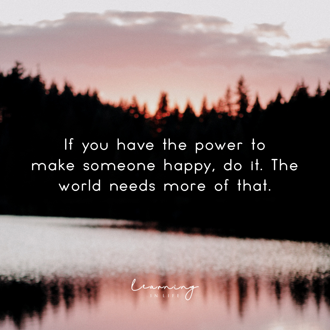 Photo of The Power to make someone happy…
