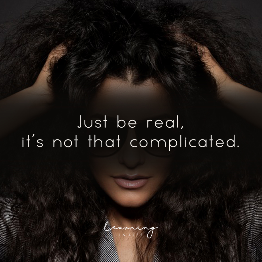 Photo of Just Be Real
