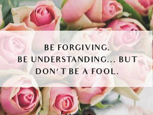 Do Not Be A Fool