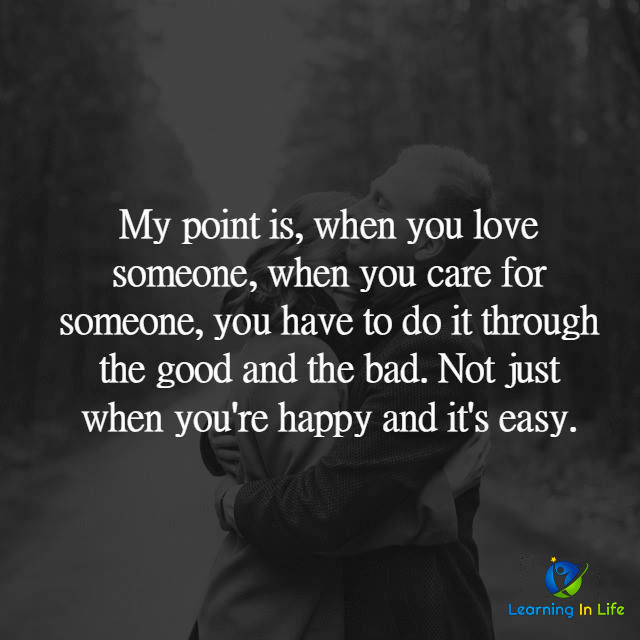 Photo of When you love someone…
