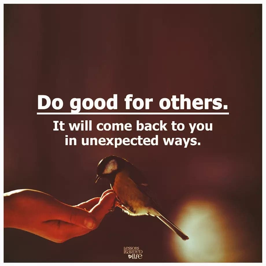 Photo of Do Good For Others