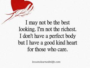 A Good Kind Heart