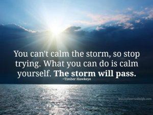 Calm The Storm