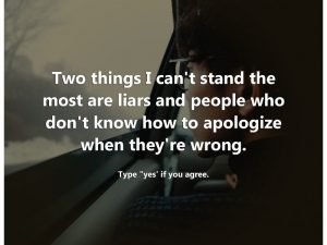 Two Things I Cant Stand