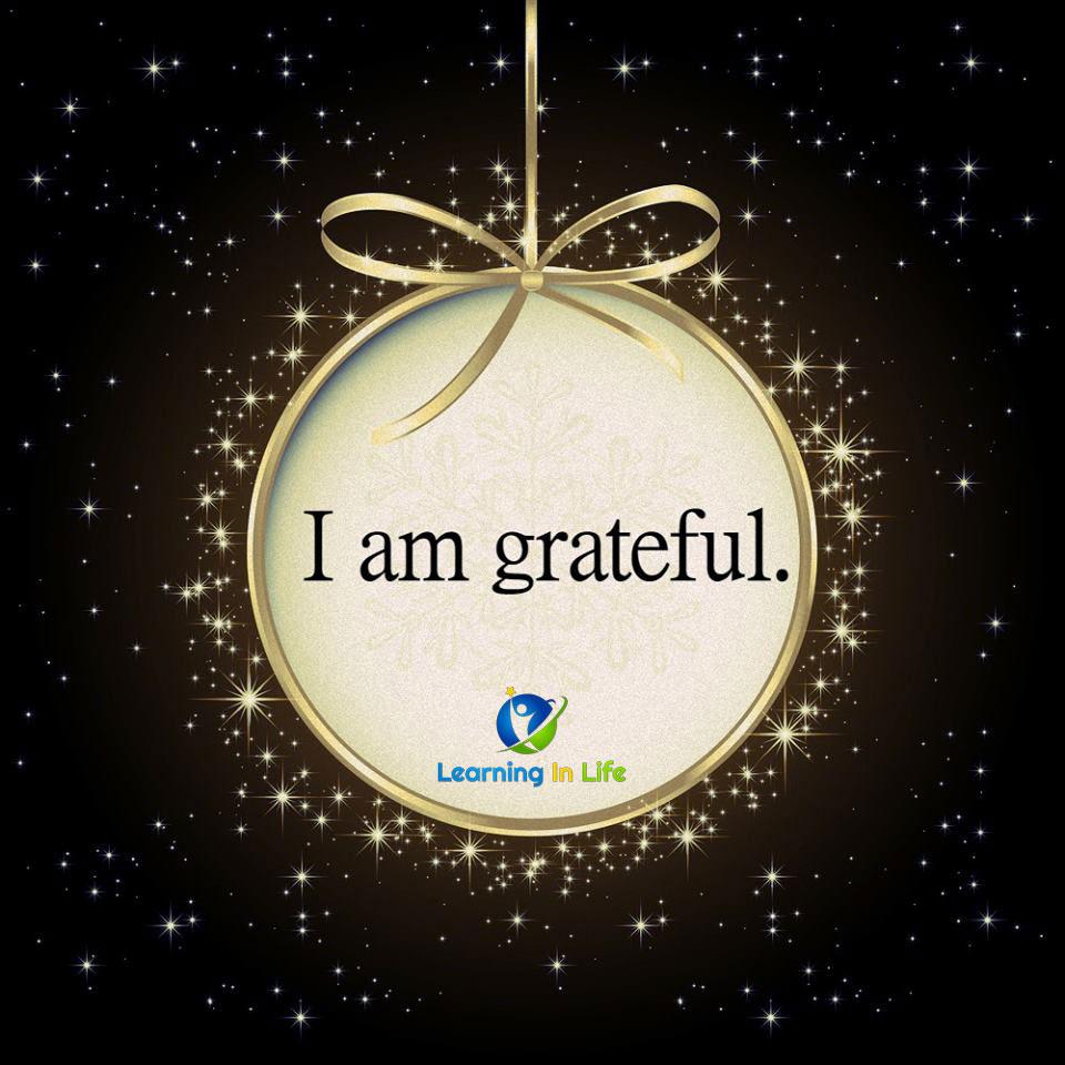 Photo of I am Grateful.