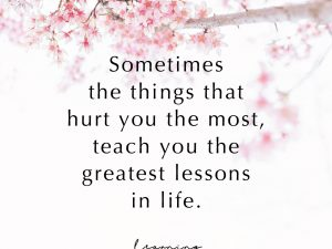 Greatest Lessons In Life