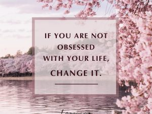 Change it.