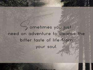 Need an adventure