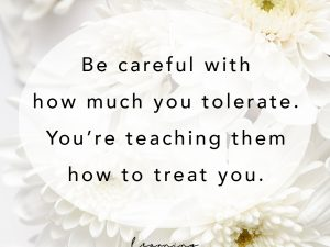 How to treat you