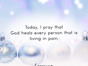 Today, I pray…