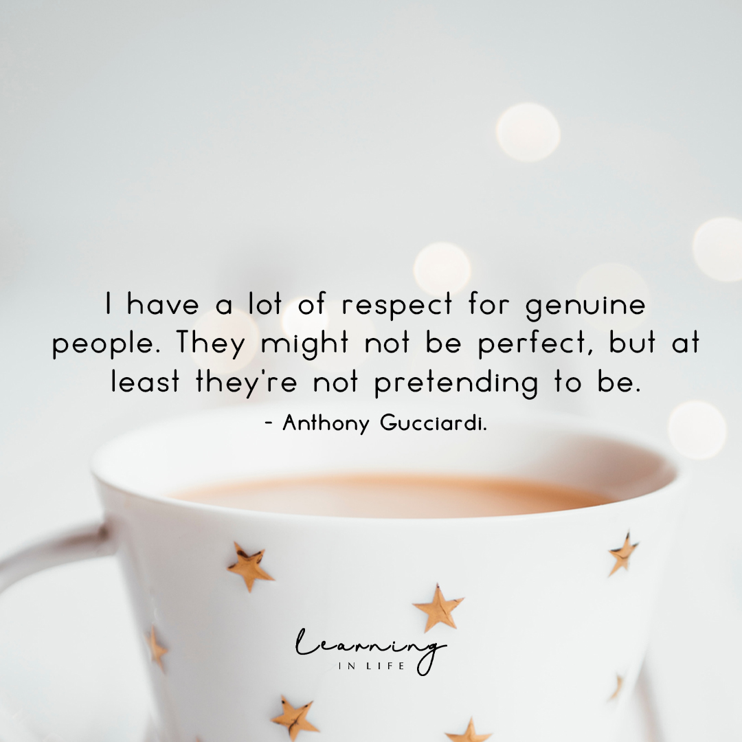 Photo of Respect for genuine people…