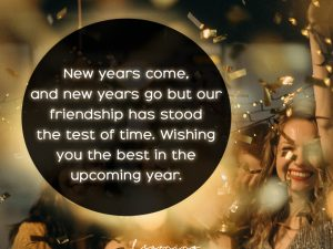 Wishing you the best in the upcoming year…