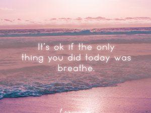 It's ok if…