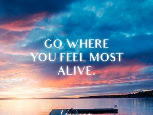 Go where…