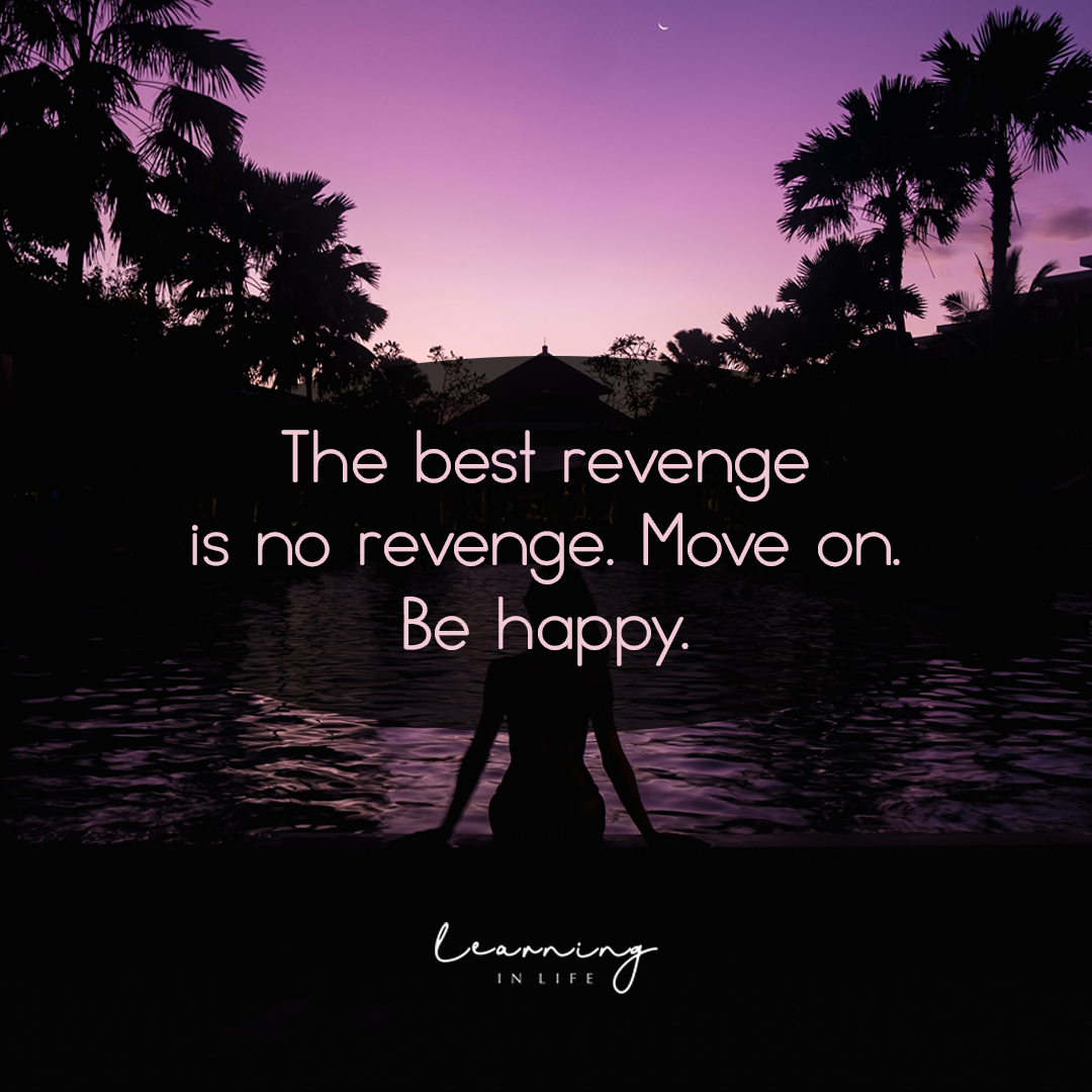 Photo of Move on. Be happy.