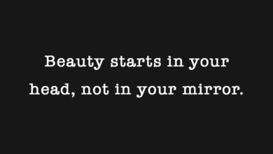 Photo of Beauty starts in your head…