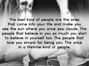 The best kind of people…