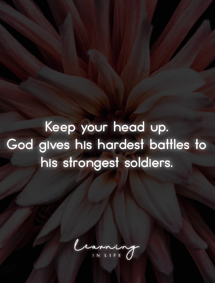 Photo of Keep your head up…