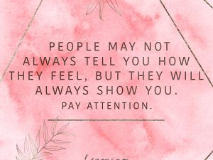 Pay attention…