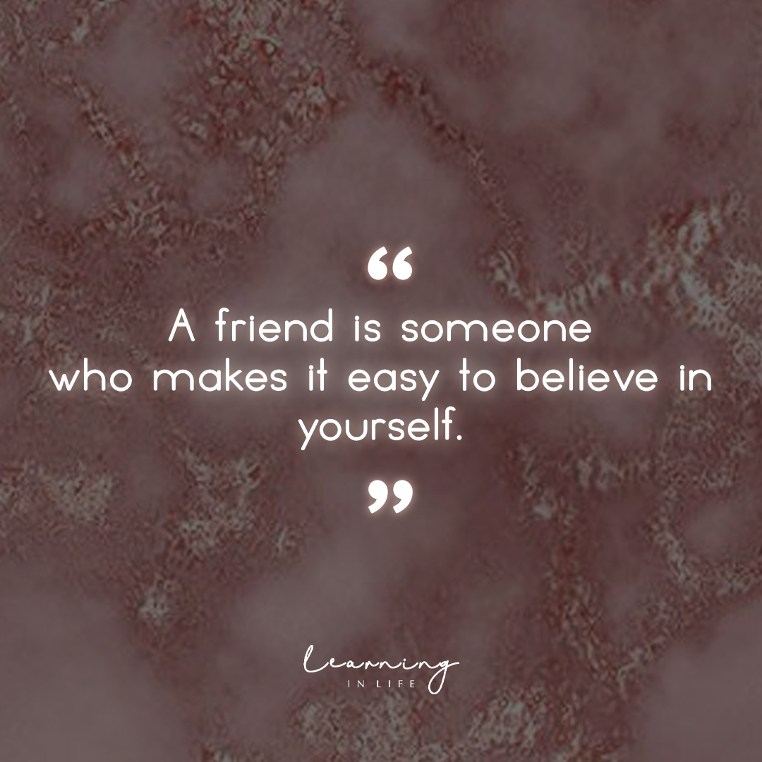 Photo of A friend is someone…