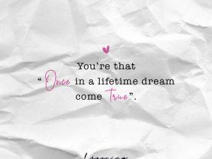 Dream come true…
