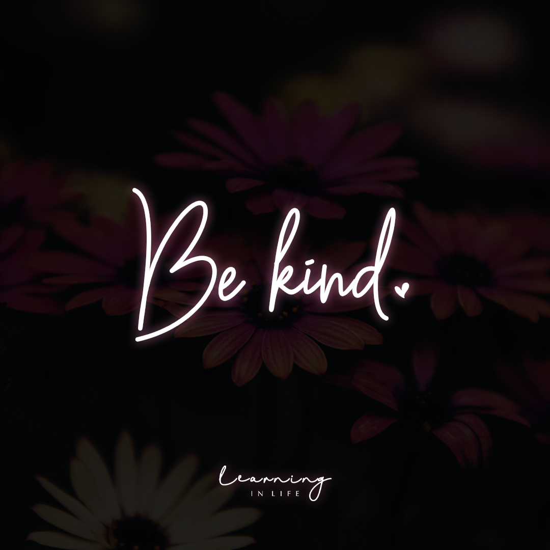 Photo of Be kind.