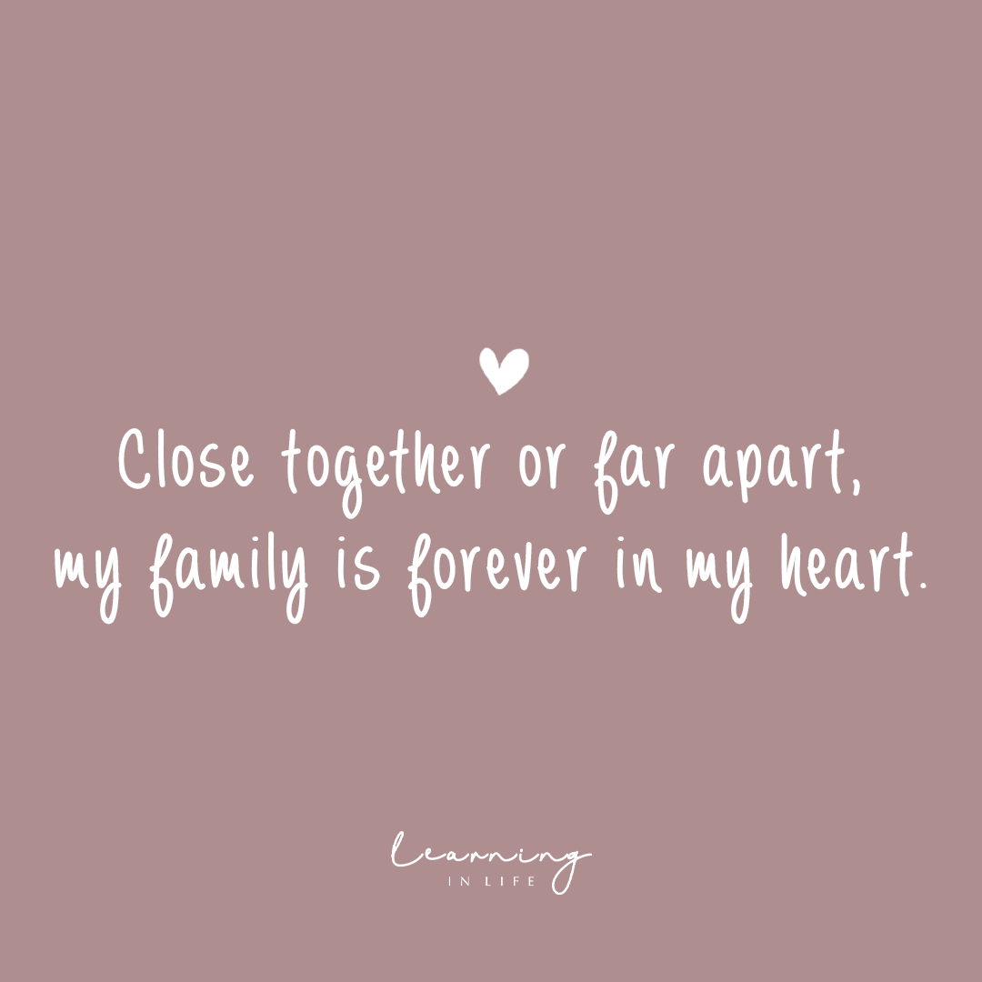 Photo of …my family is forever in my heart.