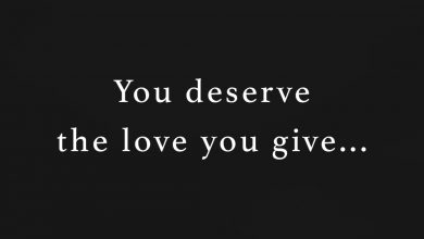 Photo of You deserve…