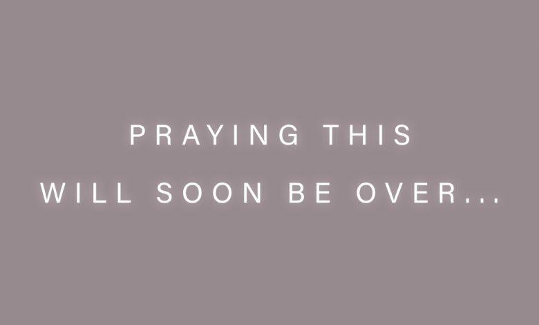 Photo of Praying…