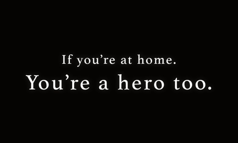 Photo of if you're at home…