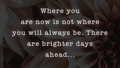 Photo of There are brighter days ahead…