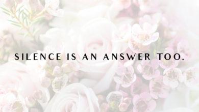 Photo of Silence…