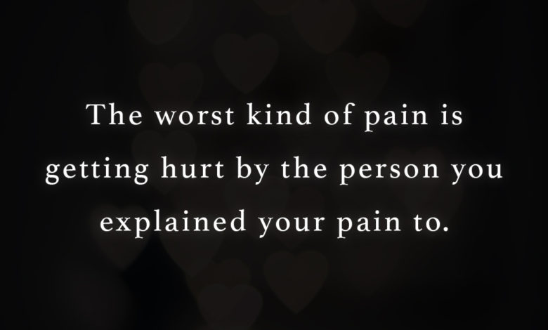 Photo of The worst kind of pain…