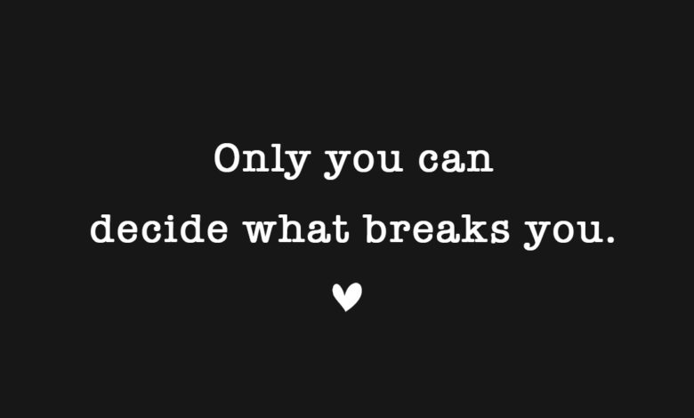 Photo of Only you can…