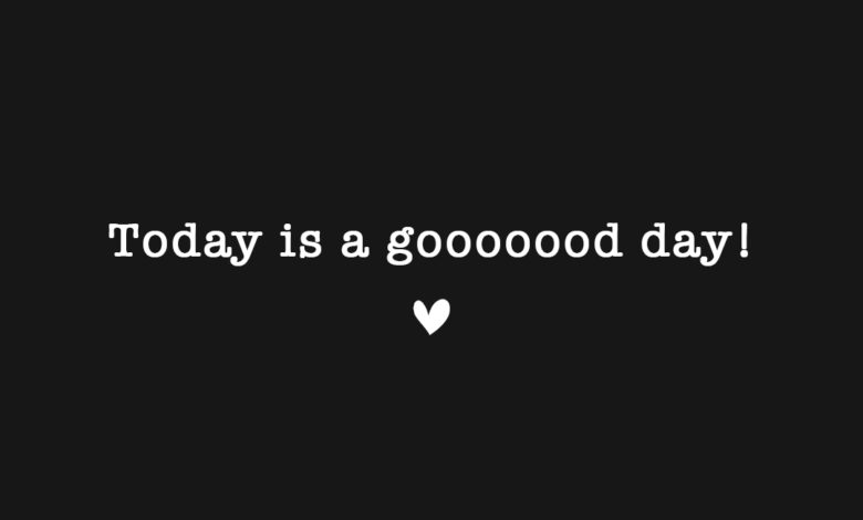 Photo of … a good day!