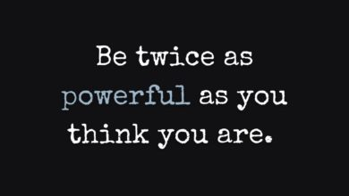 Photo of Be twice as powerful…