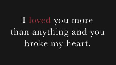 Photo of I loved you more than anything…