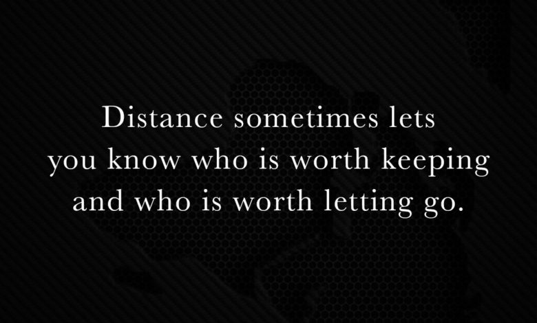 Photo of Distance sometimes…