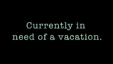 Photo of Vacation please?