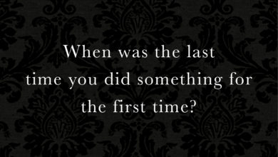 Photo of When was the last time…