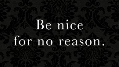 Photo of Be nice…