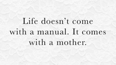 Photo of Life doesn't come with a manual…