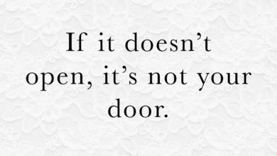 Photo of … it's not your door.