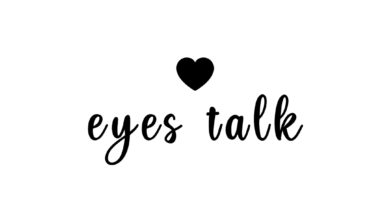 Photo of Eyes talk…